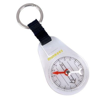 Kompas s kroužkem na klíče