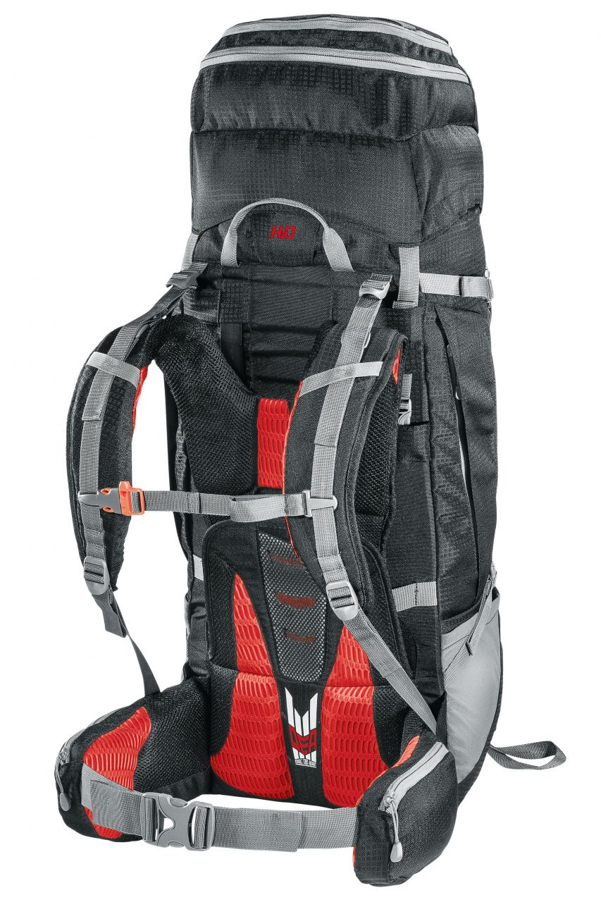 Ferrino OVERLAND 50+10 black/red