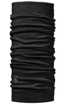 Wool Buff Garment Dye SOLID BLACK