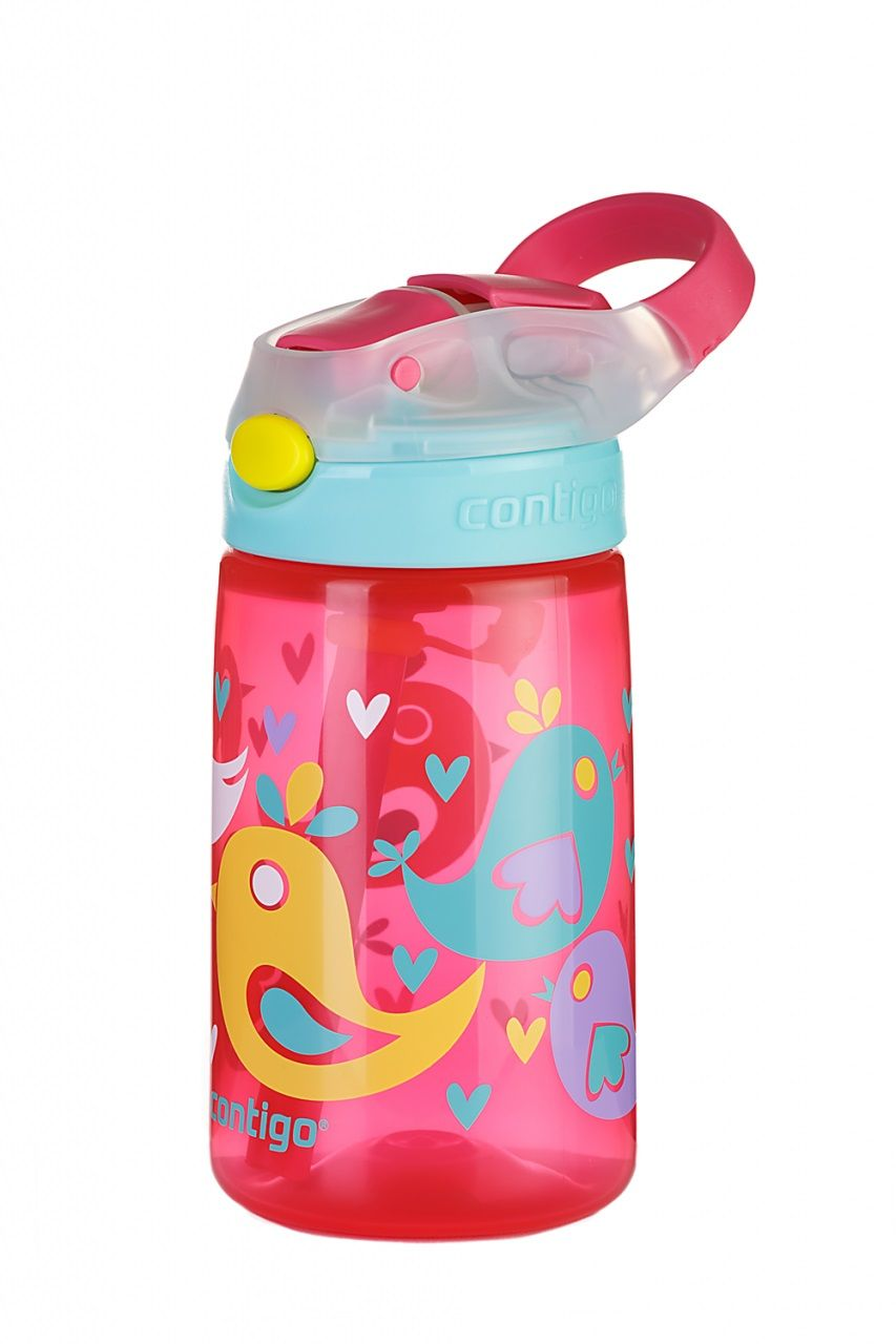 Contigo Autospout James 420 pink bird