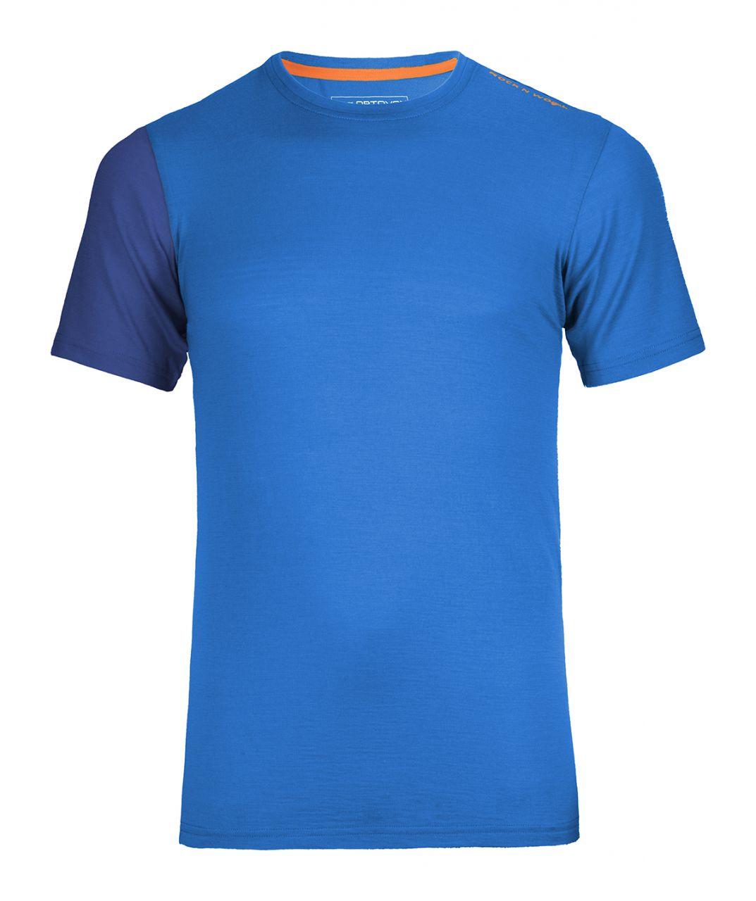 Ortovox Rock´n´Wool Short Sleeve blue ocean XL