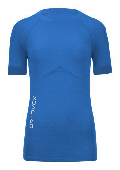 Ortovox Merino Competition Short Sleeve Women blue ocean L