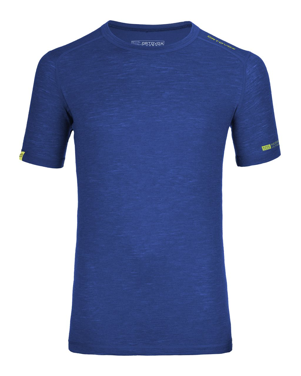 Ortovox Merino 105 Ultra Short Sleeve strong blue XL