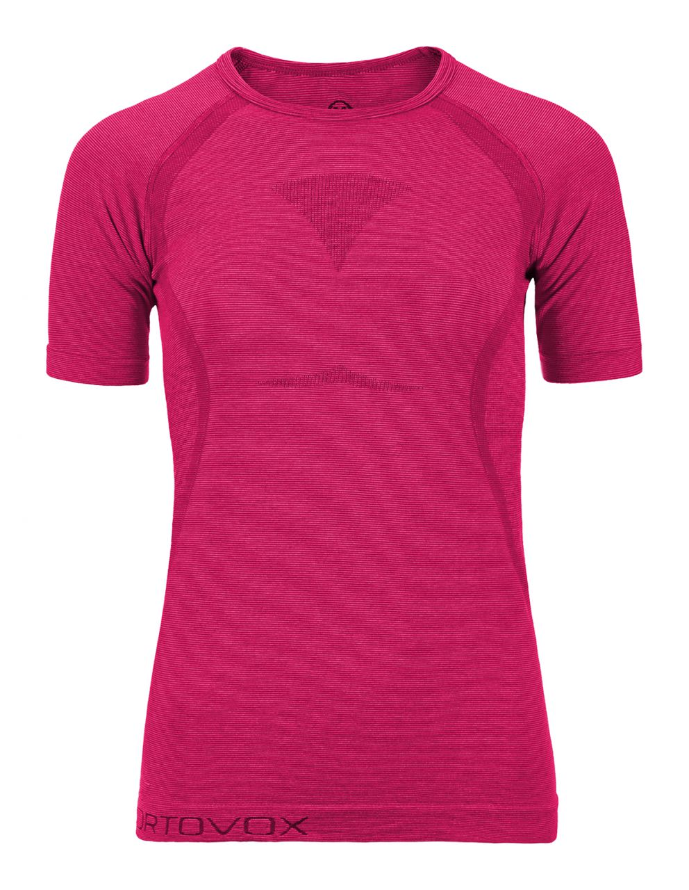 Ortovox Merino Competition Cool Short Sleeve Women very berry M