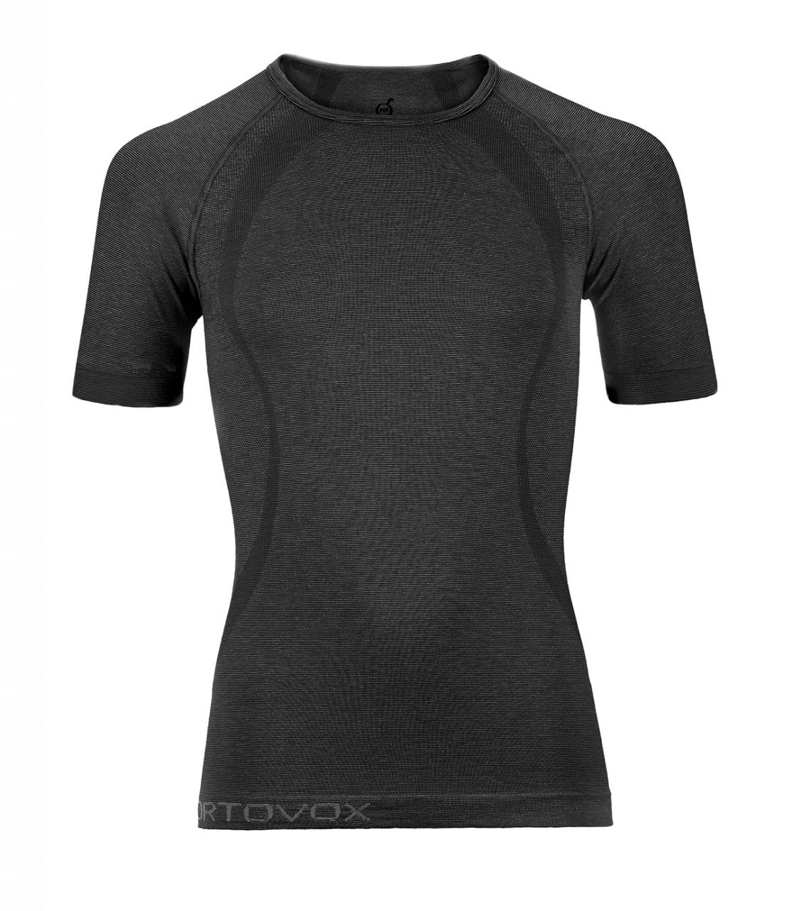 Ortovox Merino Competition Cool Short Sleeve black steel L