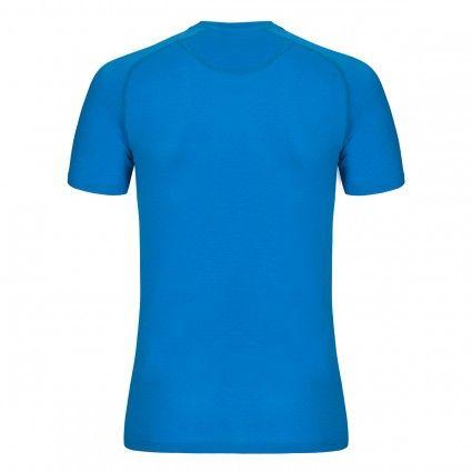 Zajo Bjorn Merino T-Shirt SS blue jewel L