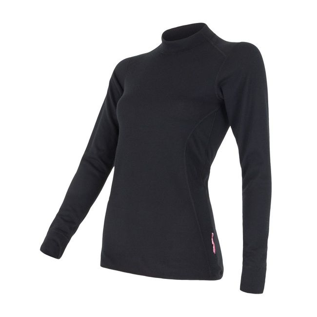 Sensor Double Face dámské triko dlouhý rukáv černá M