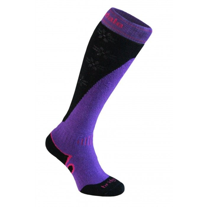 Bridgedale Mountain Women purple/black S (3-4,5)
