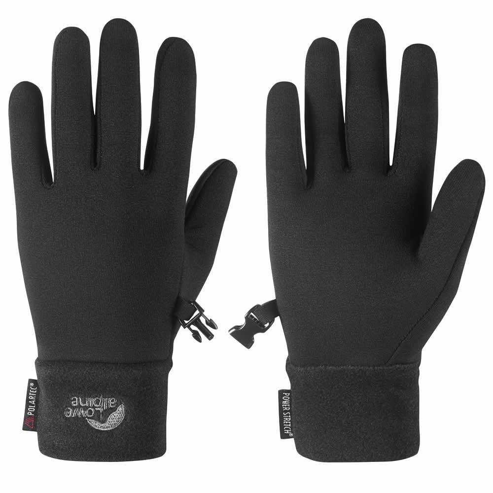 Lowe Alpine Powerstretch Glove black L