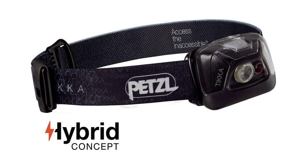 Petzl TIKKA HYBRID black