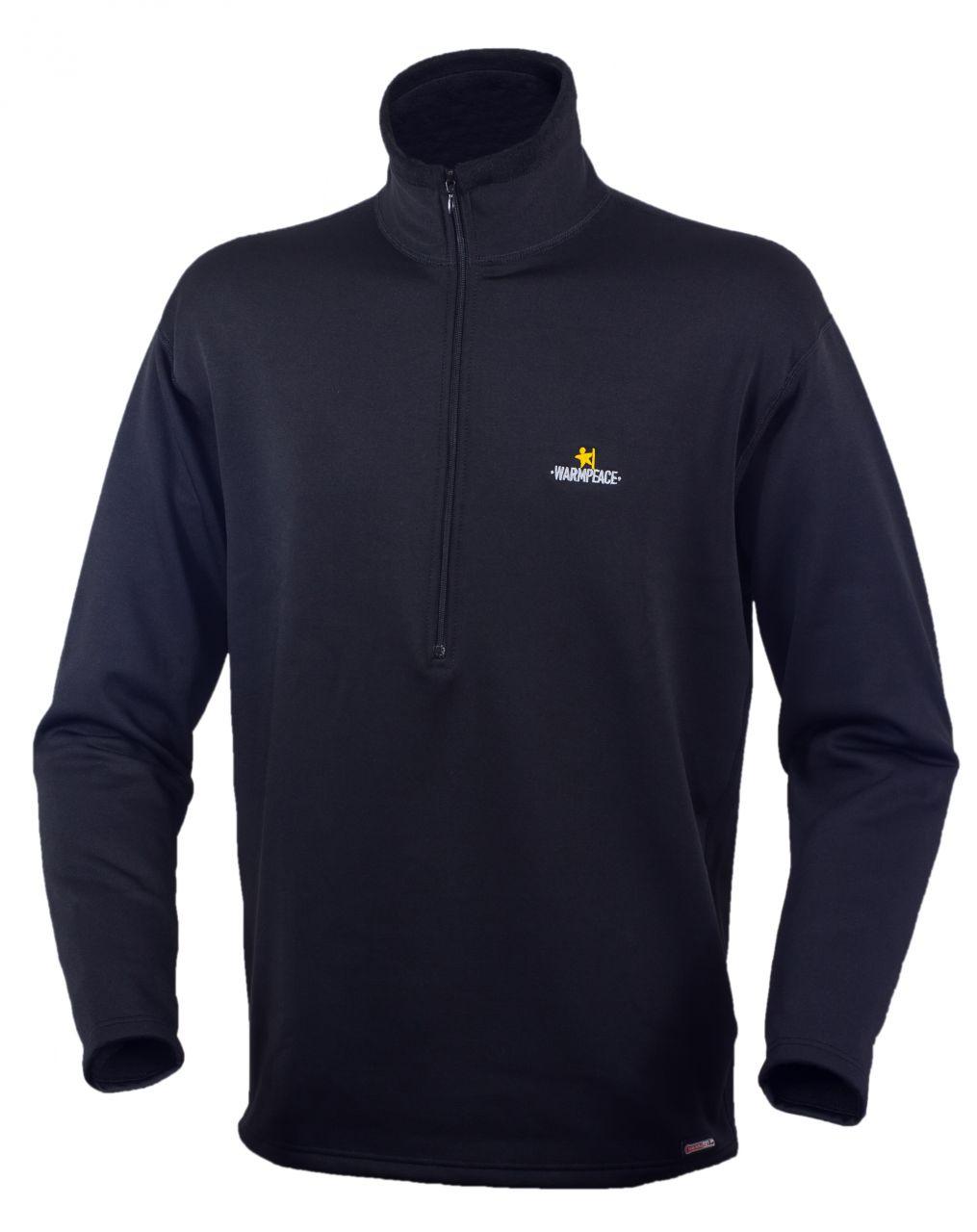 Warmpeace Pulover Fram Powerstretch black L