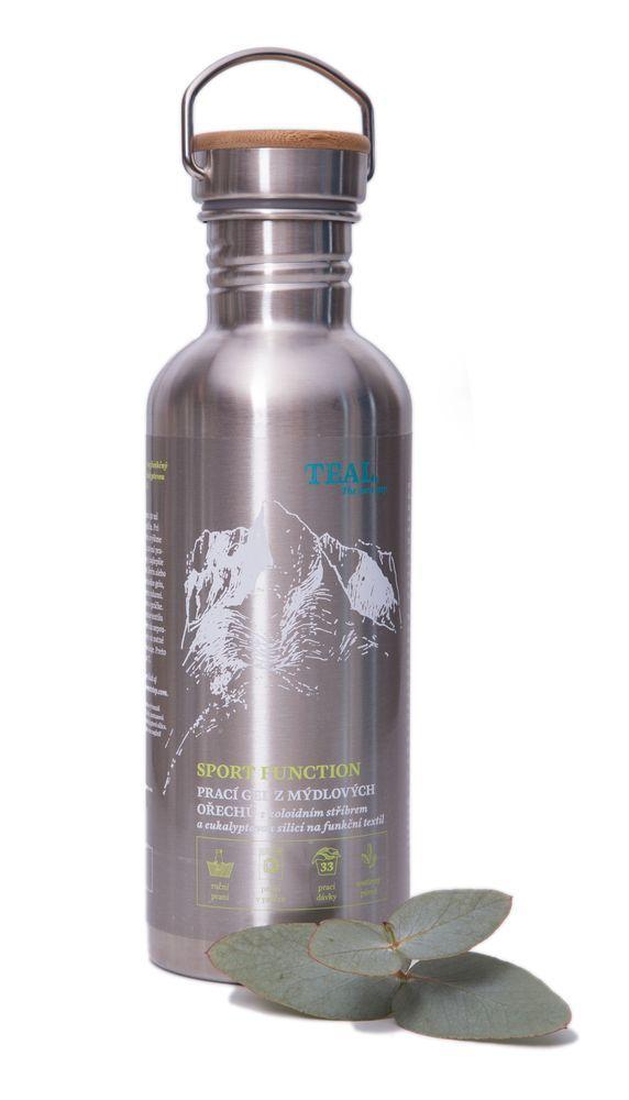 Teal Prací gel Sport Function nerezová láhev 1l 1l