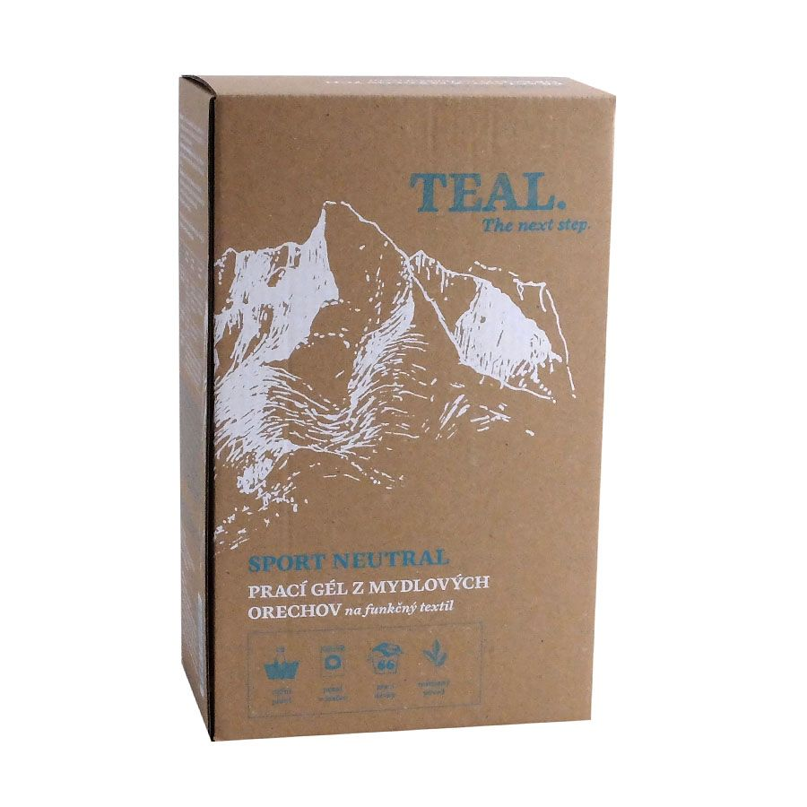 Teal Prací gel Sport Neutral 2x 1l 2x 1l