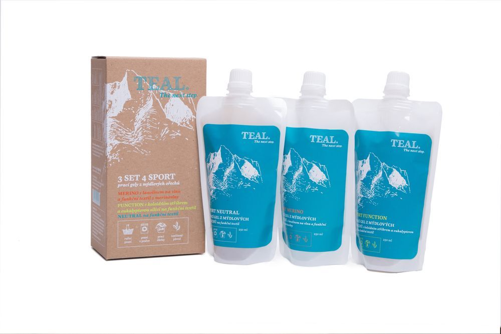 Teal Prací gel Merino 250 ml - sáček 250 ml