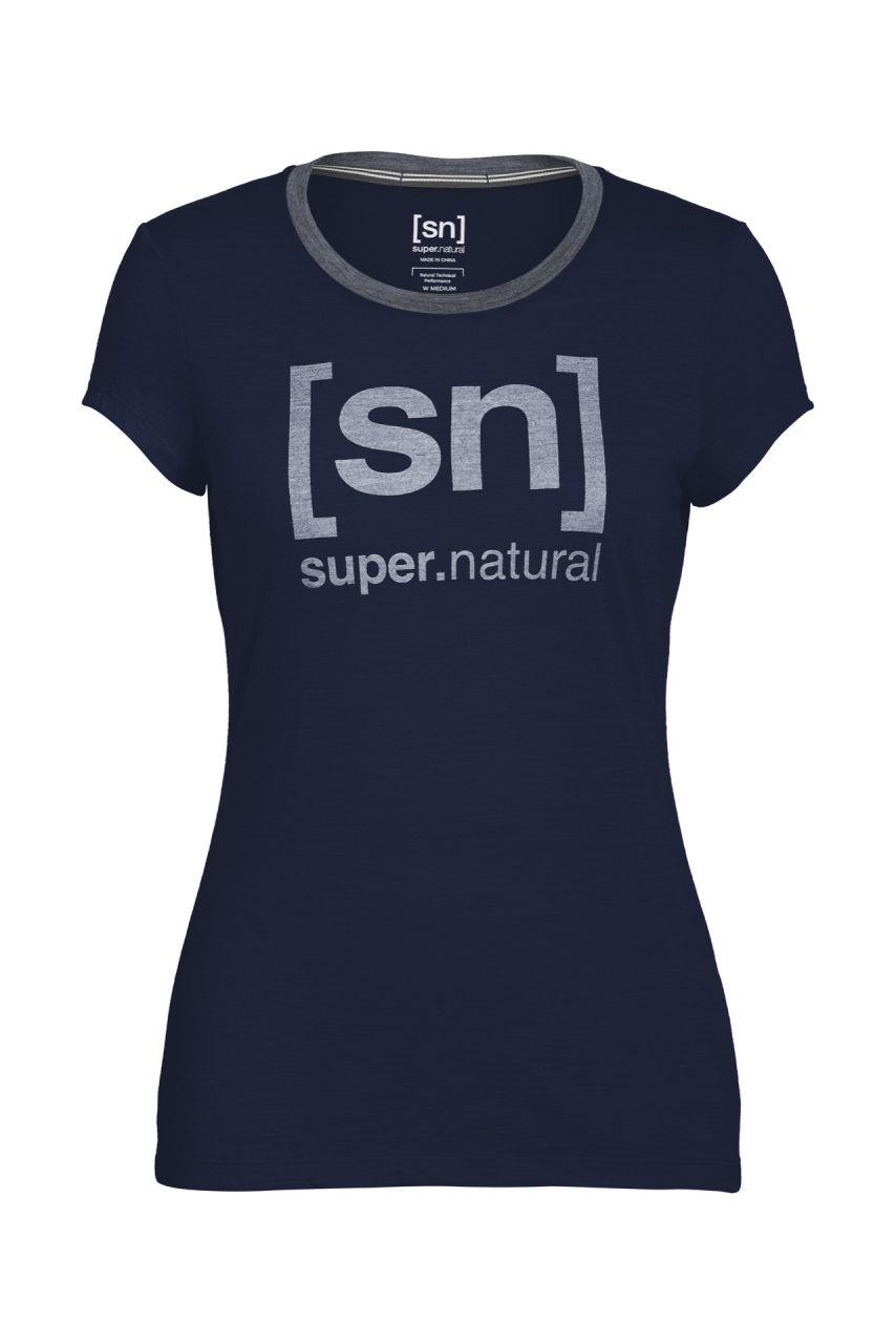 [sn] super.natural W Tempo I. D. Tee navy blazer/rose XL