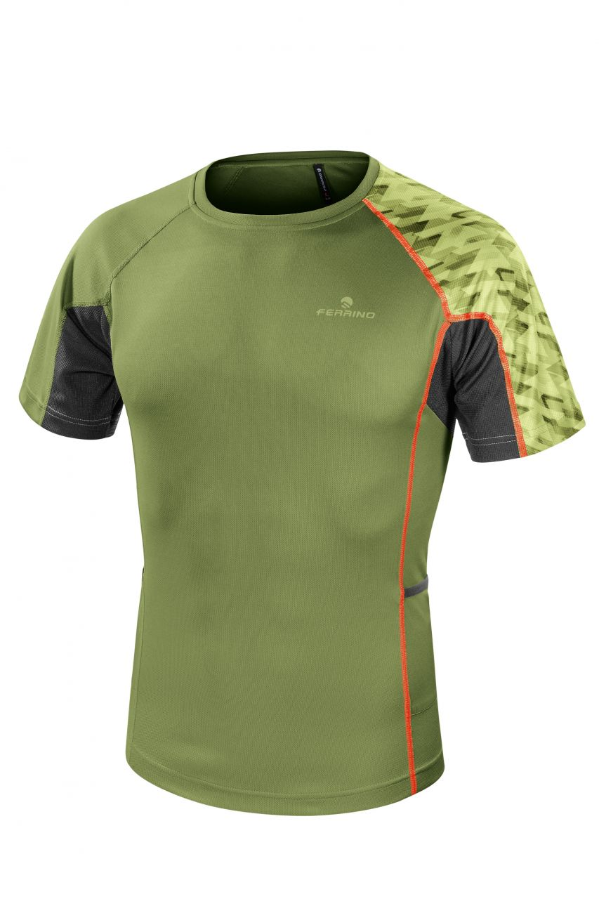 Ferrino Lavaredo X-Track T-Shirt Man sage green S