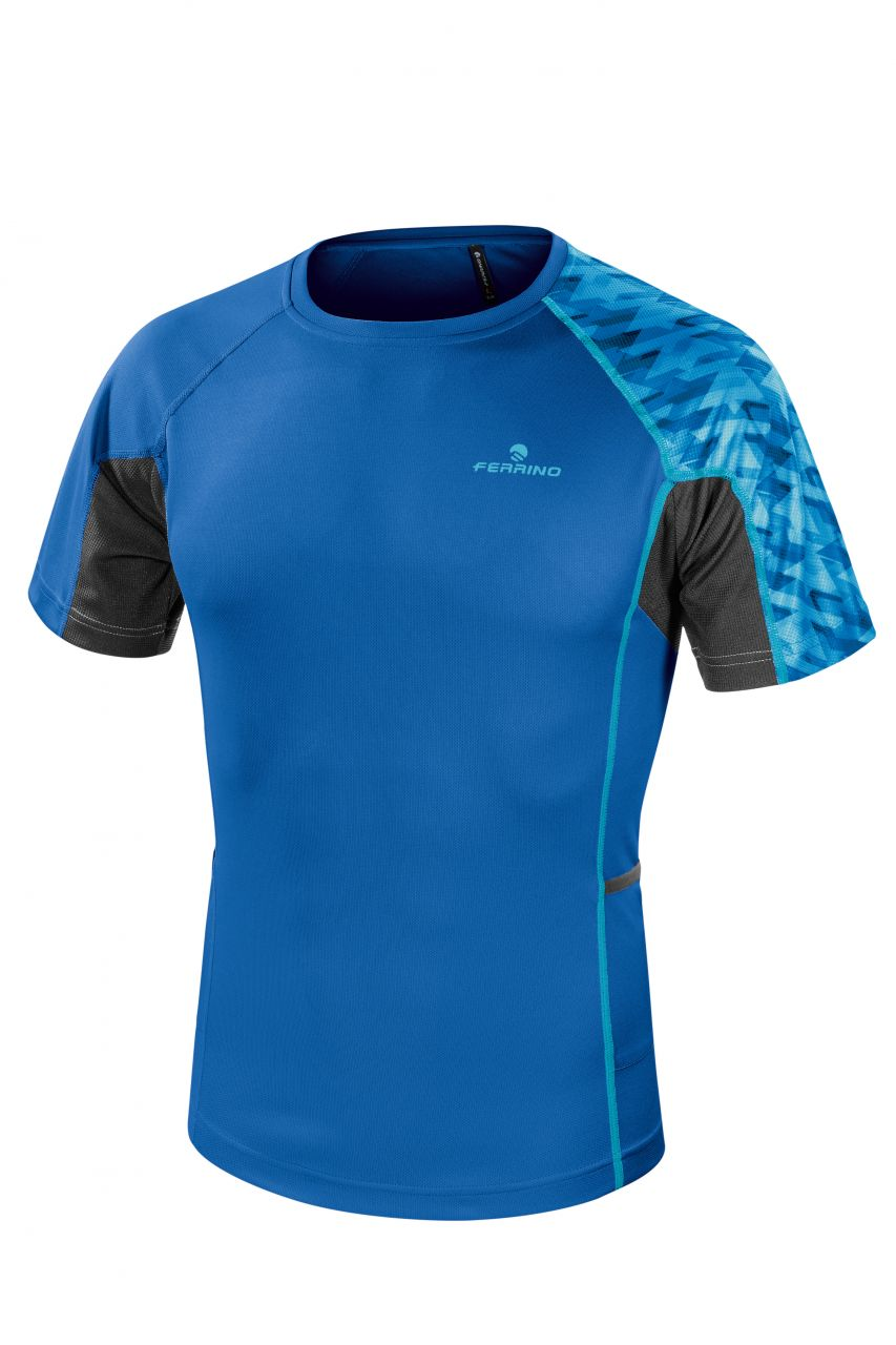 Ferrino Lavaredo X-Track T-Shirt Man baltic blue S