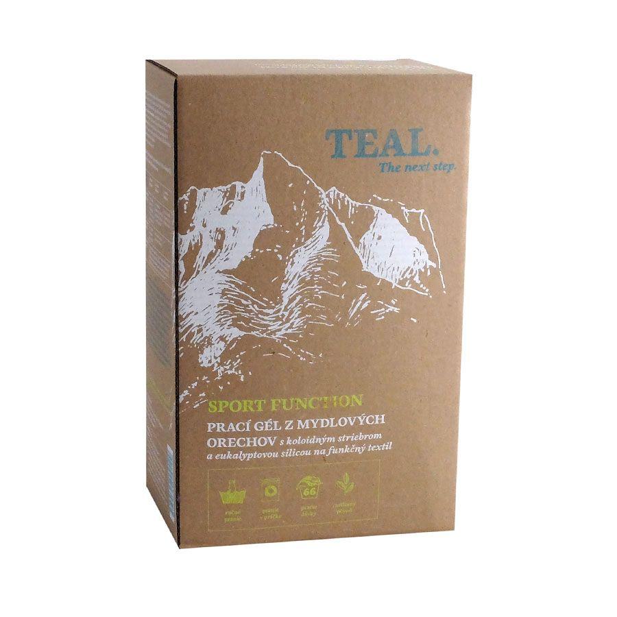 Teal Prací gel Sport Function balení 2x 1l 2x 1l