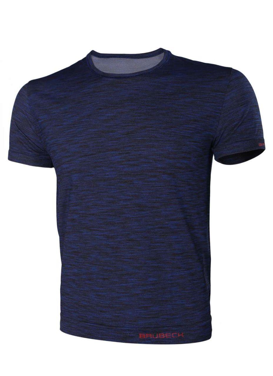 Brubeck Fusion pánské tričko krátký rukáv dim blue S