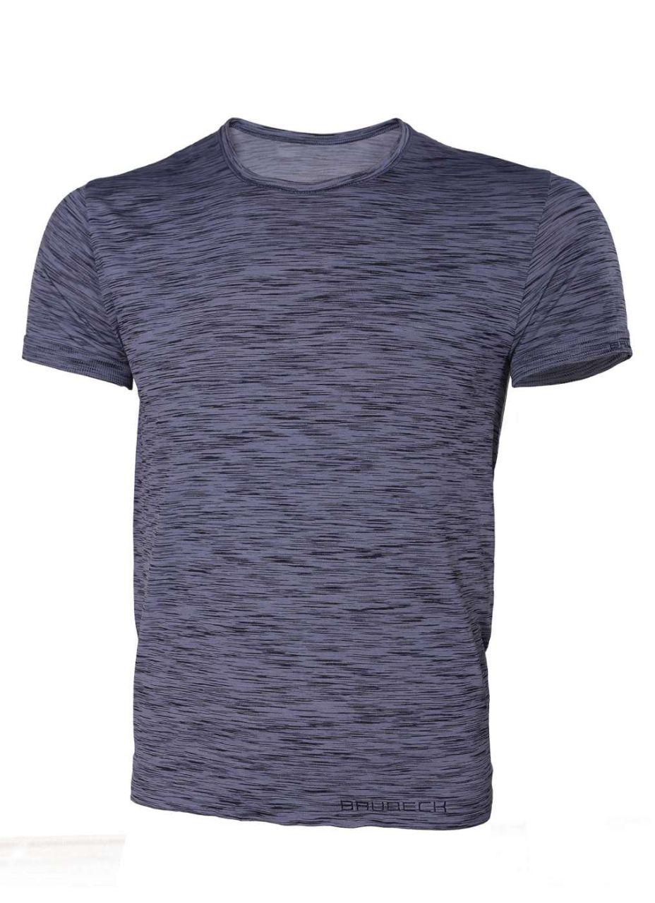 Brubeck Fusion pánské tričko krátký rukáv jeans S
