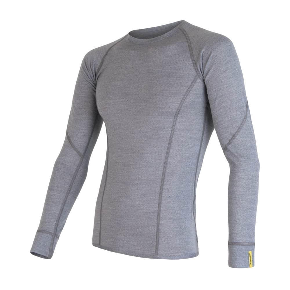 Sensor Merino Active pánské triko dlouhý rukáv blue M