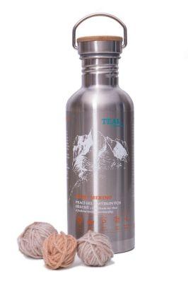 Prací gel Merino nerezová láhev 1l