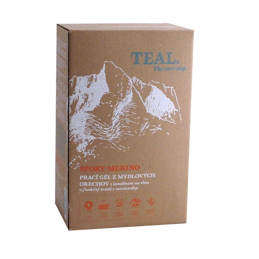 Teal Prací gel Merino 2x 1l 2x1l