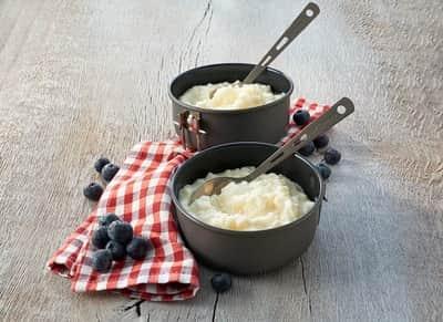 Mliečna ryža s príchuťou vanilky
