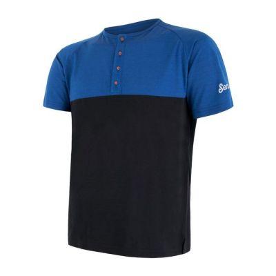 Merino Air PT pánské triko s knoflíky