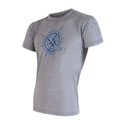 Pánske tričko Merino Active PT Kompas krátký rukáv