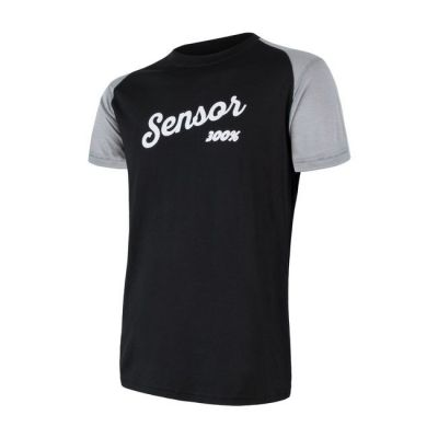 Panske tričko Merino Active PT Logo krátký rukáv