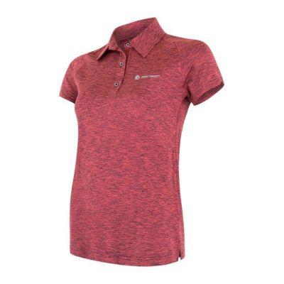 Dámske tričko Motion Dámske triko polo krátký rukáv