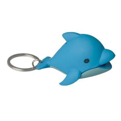LED svietidlo so zvukom Delfín - prívesok na kľúče