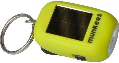 Solárne LED svietidlo s dynamom