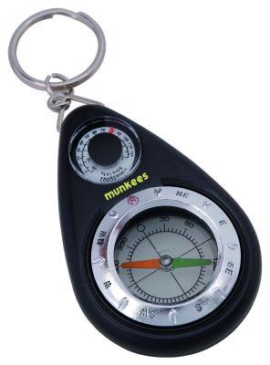 Kompas s teploměrem
