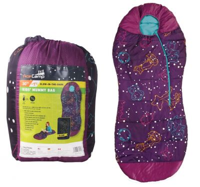 Dievčenský spacák Mummy Bag