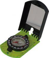 Skladací mapový kompas so zrkadielkom - veľký
