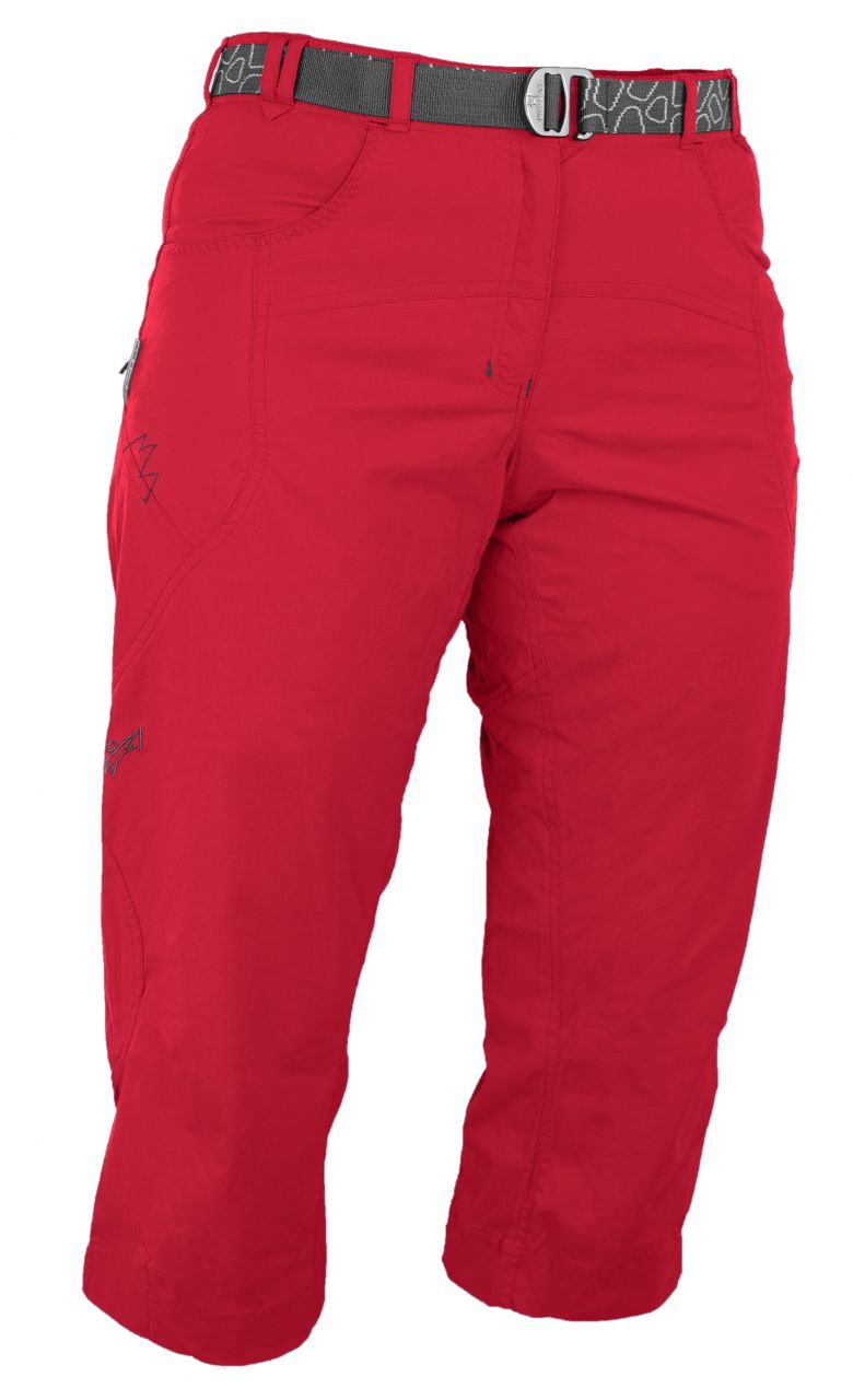 Warmpeace Flex 3/4 Pants red rose S