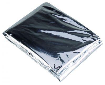 Nouzová deka - stříbrná