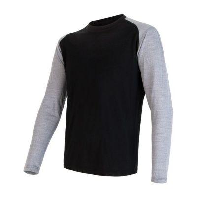 Pánske tričko Merino Active PT Logo pánske dlhý rukáv