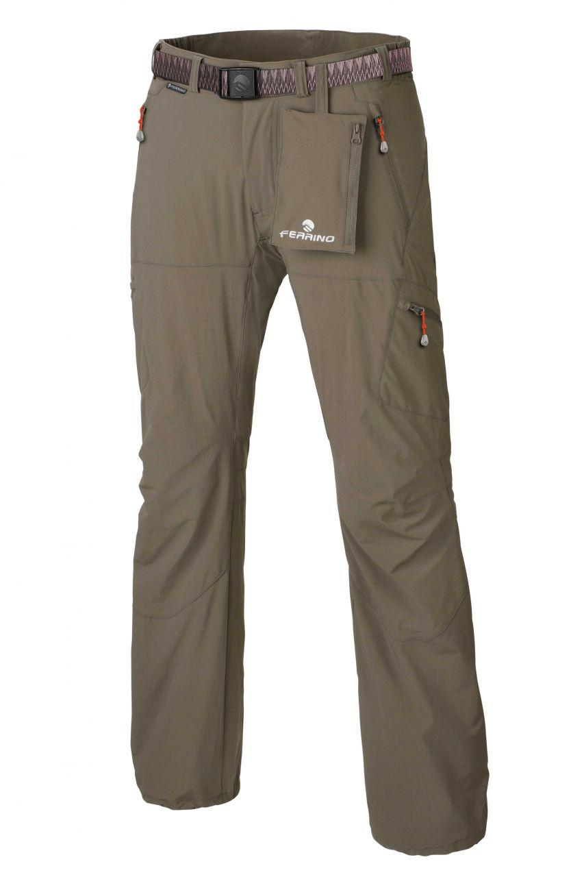 Ferrino HERVEY Pants Man iron brown 54/XXL