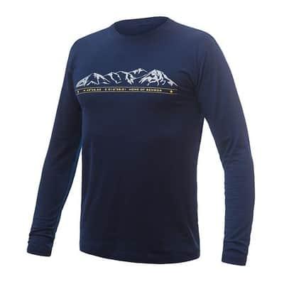 Pánske triko Merino Active PT Mountains Pánske triko dlhý rukáv