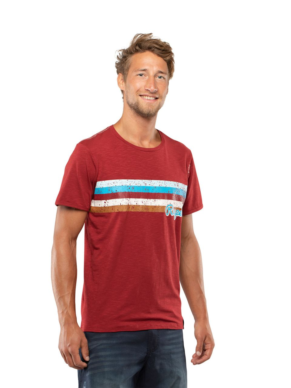 Chillaz Respect T-Shirt Man dark red S