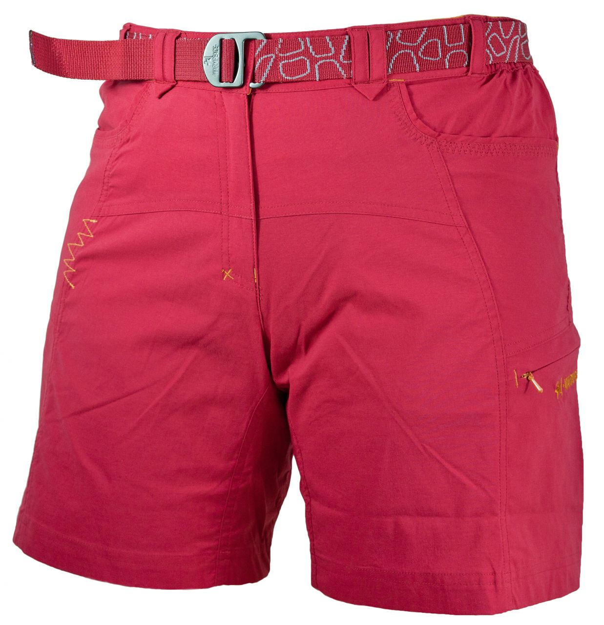 Warmpeace Muriel Lady Shorts rose red XS
