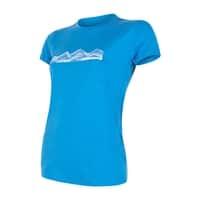 Merino Active PT Mountains Dámske tričko dlhý rukáv - šedá