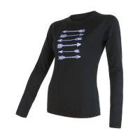 Merino Active PT Arrows Dámske tričko dlhý rukáv