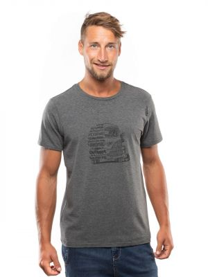 Lettering Bus Men T-Shirt