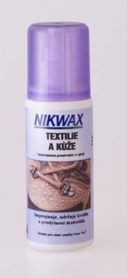 NIKWAX-FABRIC&LEATHER SPRAY-ON (textil&koža)