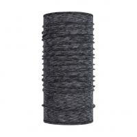 Merino wool Buff Lightweight- Graphite multi stripes