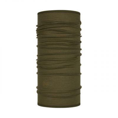 Merino wool Buff Lightweight- Solid bark